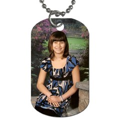 Mommy By Elizabeth Blevins   Dog Tag (two Sides)   Ns00lxcqr1f1   Www Artscow Com Front