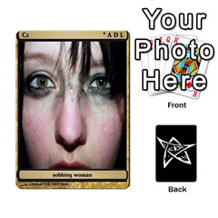 Queen Dark Cults Fixed 1 By Ryan Mcswain   Playing Cards 54 Designs   Ku7wkc8dlkhx   Www Artscow Com Front - DiamondQ
