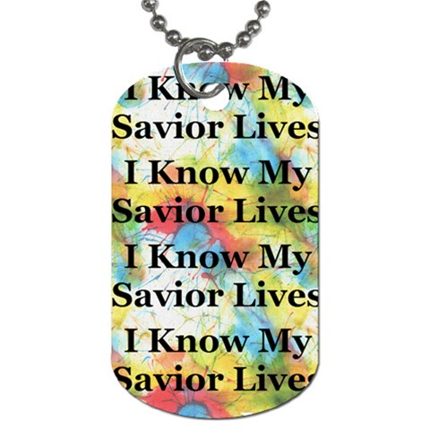Primary Tyedie 2010 Dogtag  By Amber   Dog Tag (one Side)   Qjaggv8kwzzv   Www Artscow Com Front