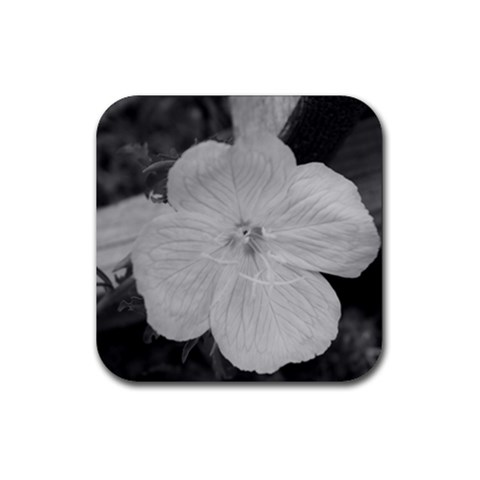 Flower Coaster By Tamara Chewning   Rubber Coaster (square)   60ycj027srlb   Www Artscow Com Front
