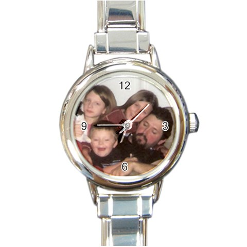 Mom s Watch By Foxtaill   Round Italian Charm Watch   1xak02dpq227   Www Artscow Com Front