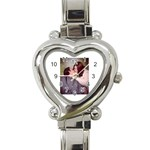 My Watch!!! - Heart Italian Charm Watch