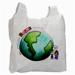 1sided Earth Bag - Recycle Bag (One Side)