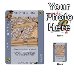 These Romans Are Crazy D2 By Ben   Multi Purpose Cards (rectangle)   D73igysur5ad   Www Artscow Com Front 53