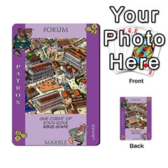These Romans Are Crazy D2 By Ben   Multi Purpose Cards (rectangle)   D73igysur5ad   Www Artscow Com Front 9