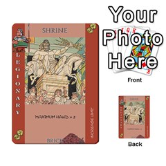 These Romans Are Crazy D2 By Ben   Multi Purpose Cards (rectangle)   D73igysur5ad   Www Artscow Com Front 18