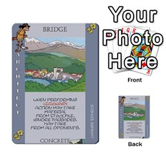 These Romans Are Crazy D2 By Ben   Multi Purpose Cards (rectangle)   D73igysur5ad   Www Artscow Com Front 42
