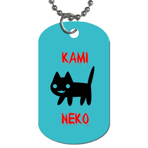 Kamitag By Jennifer Sneed   Dog Tag (one Side)   Nhqct1s4voyu   Www Artscow Com Front