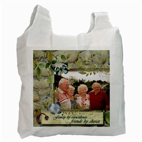 Friends By Choice By Catvinnat   Recycle Bag (one Side)   G3av79i8lo4a   Www Artscow Com Front