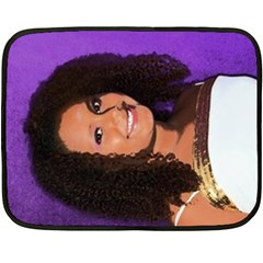 Vanessa By Kim   Double Sided Fleece Blanket (mini)   Stv6fsqktn48   Www Artscow Com 35 x27 Blanket Back