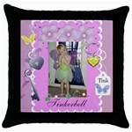 Kamryn s Pillow - Throw Pillow Case (Black)