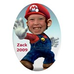 Zack Christmas Ornament - Ornament (Oval)