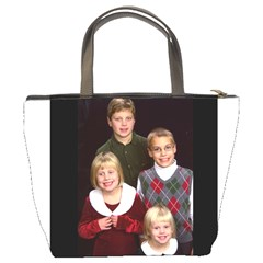 Bag With Kids Christmas Pic By Brenda   Bucket Bag   1s3wyqljoab2   Www Artscow Com Back