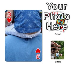 Summer Vaca  By Megan   Playing Cards 54 Designs   Ulw3a5jqi09o   Www Artscow Com Front - Heart3