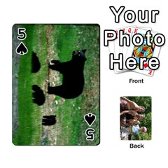 Summer Vaca  By Megan   Playing Cards 54 Designs   Ulw3a5jqi09o   Www Artscow Com Front - Spade5