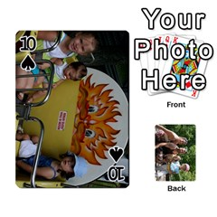 Summer Vaca  By Megan   Playing Cards 54 Designs   Ulw3a5jqi09o   Www Artscow Com Front - Spade10
