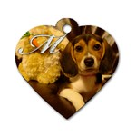 Maddy Tag - Dog Tag Heart (Two Sides)
