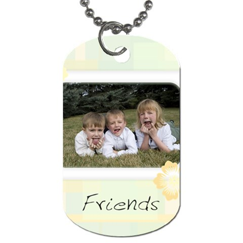Dog Tag By Tausha   Dog Tag (one Side)   7rp93csavo35   Www Artscow Com Front