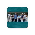 Kidz_coaster - Rubber Coaster (Square)