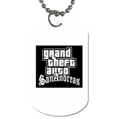 Gb Dogtag Logo By Brandy   Dog Tag (two Sides)   S89wvj4i6nha   Www Artscow Com Back