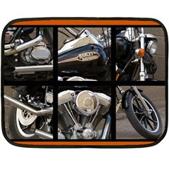 Harley Blanket By Laurie   Double Sided Fleece Blanket (mini)   Jd9tk8qh3nit   Www Artscow Com 35 x27 Blanket Front