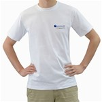Solutionsfit.com - Men s T-Shirt (White) (Two Sided)