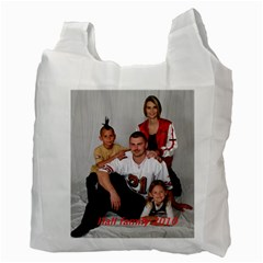 Reusable Shopping Bags  By Gloria Hall   Recycle Bag (two Side)   2f308otgvwx5   Www Artscow Com Back