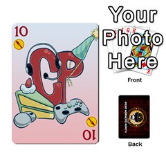 Deck Of Cards For The Cp Community By Brent   Playing Cards 54 Designs   Qjg75oli918h   Www Artscow Com Front - Heart10