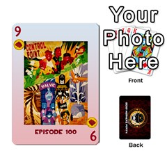 Deck Of Cards For The Cp Community By Brent   Playing Cards 54 Designs   Qjg75oli918h   Www Artscow Com Front - Diamond9