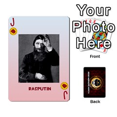 Jack Deck Of Cards For The Cp Community By Brent   Playing Cards 54 Designs   Qjg75oli918h   Www Artscow Com Front - DiamondJ