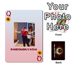 Queen Deck Of Cards For The Cp Community By Brent   Playing Cards 54 Designs   Qjg75oli918h   Www Artscow Com Front - DiamondQ