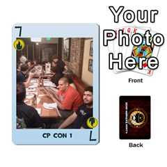 Deck Of Cards For The Cp Community By Brent   Playing Cards 54 Designs   Qjg75oli918h   Www Artscow Com Front - Club7