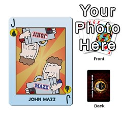 Jack Deck Of Cards For The Cp Community By Brent   Playing Cards 54 Designs   Qjg75oli918h   Www Artscow Com Front - ClubJ