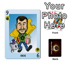 Deck Of Cards For The Cp Community By Brent   Playing Cards 54 Designs   Qjg75oli918h   Www Artscow Com Front - Spade9