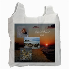 Sanibel Bag By Terri   Recycle Bag (two Side)   3xlr7c1tuteo   Www Artscow Com Front