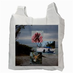 Sanibel Bag By Terri   Recycle Bag (two Side)   3xlr7c1tuteo   Www Artscow Com Back