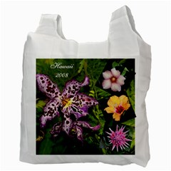 Hawaii Bag By Terri   Recycle Bag (two Side)   Q82k7iu93e5v   Www Artscow Com Back