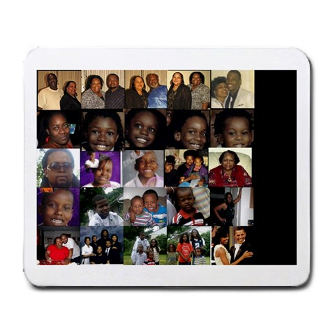 Cynthia s Fam By Cynthia Kellam   Large Mousepad   A98xqis0x3eh   Www Artscow Com Front
