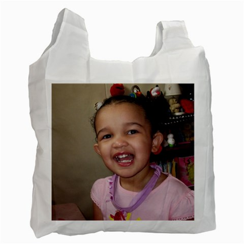 Recycle Bag By Heather   Recycle Bag (one Side)   W0lbgiidw04u   Www Artscow Com Front