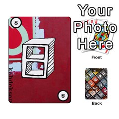 Geschenkt P1 By Bob Menzel   Playing Cards 54 Designs   A8xexbxaf5gc   Www Artscow Com Front - Club5