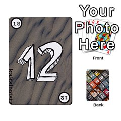 Geschenkt P1 By Bob Menzel   Playing Cards 54 Designs   A8xexbxaf5gc   Www Artscow Com Front - Club9