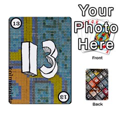 Geschenkt P1 By Bob Menzel   Playing Cards 54 Designs   A8xexbxaf5gc   Www Artscow Com Front - Club10