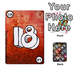 Geschenkt P1 By Bob Menzel   Playing Cards 54 Designs   A8xexbxaf5gc   Www Artscow Com Front - Joker1