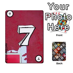 Geschenkt P1 By Bob Menzel   Playing Cards 54 Designs   A8xexbxaf5gc   Www Artscow Com Front - Spade8