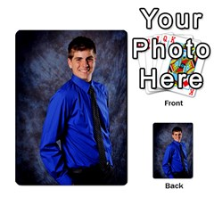 Senior Graduation Wallet Photos By Mary Landwehr   Multi Purpose Cards (rectangle)   Iy3lm9ckklwt   Www Artscow Com Back 23