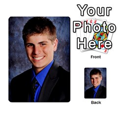 Senior Graduation Wallet Photos By Mary Landwehr   Multi Purpose Cards (rectangle)   Iy3lm9ckklwt   Www Artscow Com Front 24