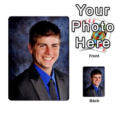 Senior Graduation Wallet Photos By Mary Landwehr   Multi Purpose Cards (rectangle)   Iy3lm9ckklwt   Www Artscow Com Back 25