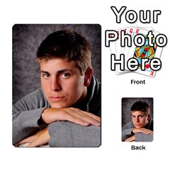 Senior Graduation Wallet Photos By Mary Landwehr   Multi Purpose Cards (rectangle)   Iy3lm9ckklwt   Www Artscow Com Back 26