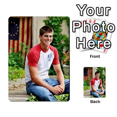 Senior Graduation Wallet Photos By Mary Landwehr   Multi Purpose Cards (rectangle)   Iy3lm9ckklwt   Www Artscow Com Back 33