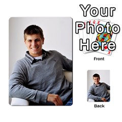 Senior Graduation Wallet Photos By Mary Landwehr   Multi Purpose Cards (rectangle)   Iy3lm9ckklwt   Www Artscow Com Back 35